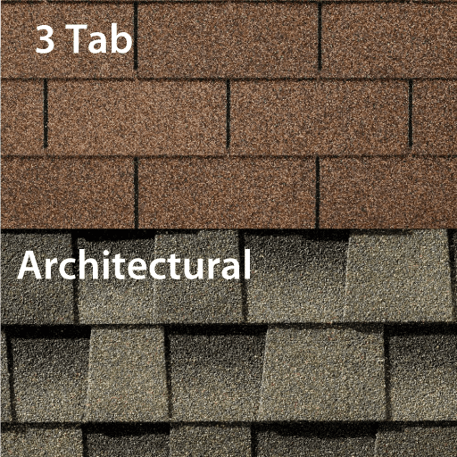 3tab vs. architectural shingles