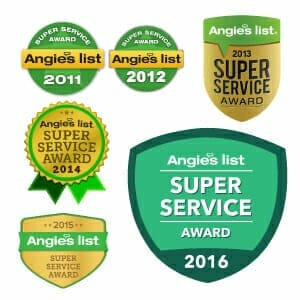 Alco Products Inc. has won the Angie's List Super Service Awards for multiple years for their work in residential remodeling