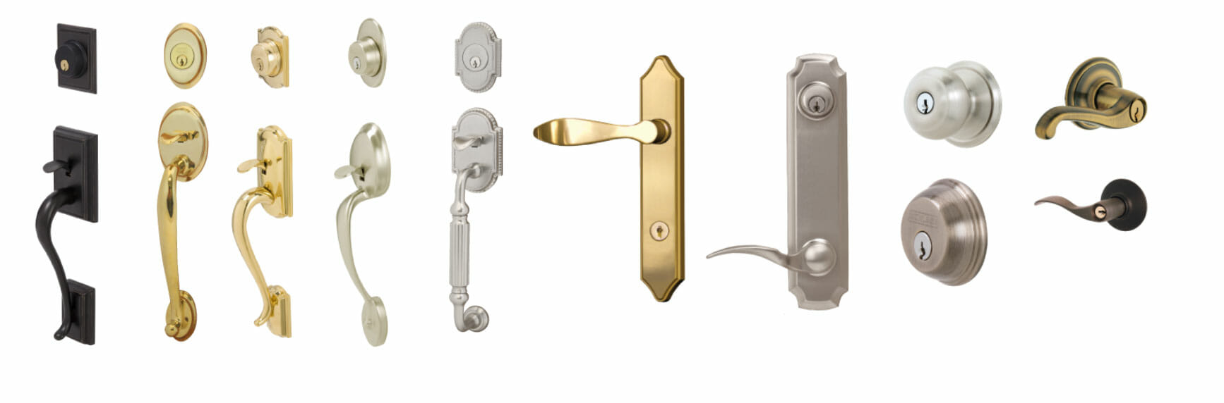 Entry Door handle and locks options