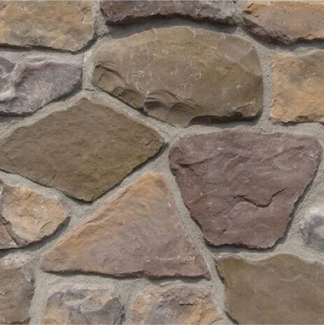 fieldstone veneer siding installation