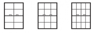 Double Hung Window Grid Styles for your home in Maryland, Washington D.C., and Virginia