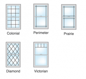 Double Hung Window Styles for your home in Maryland, Washington D.C., and Virginia