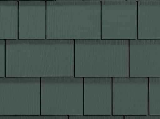 James Hardie straight shingle siding installation