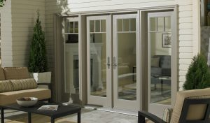 swinging patio door