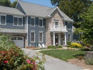 Hardie Siding residential installation in Virginia